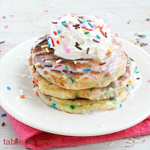 Sprinkle Pancakes Recipelion Com