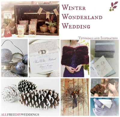 59 DIY Wedding Ideas for a Winter Wedding: Colors and Projects