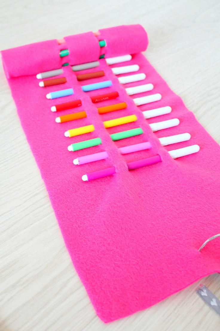Diy No Sew Pencil Roll Allfreesewing Com