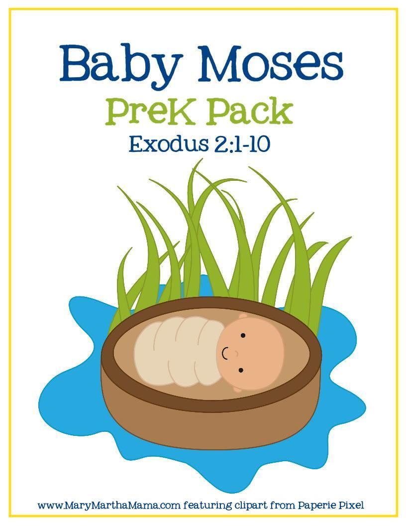 Baby Moses Preschool Activities | AllFreeKidsCrafts.com