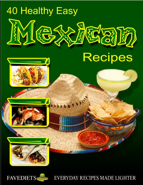 Mexican Cookbook Cover : Healthy easy mexican recipes free ecookbook
