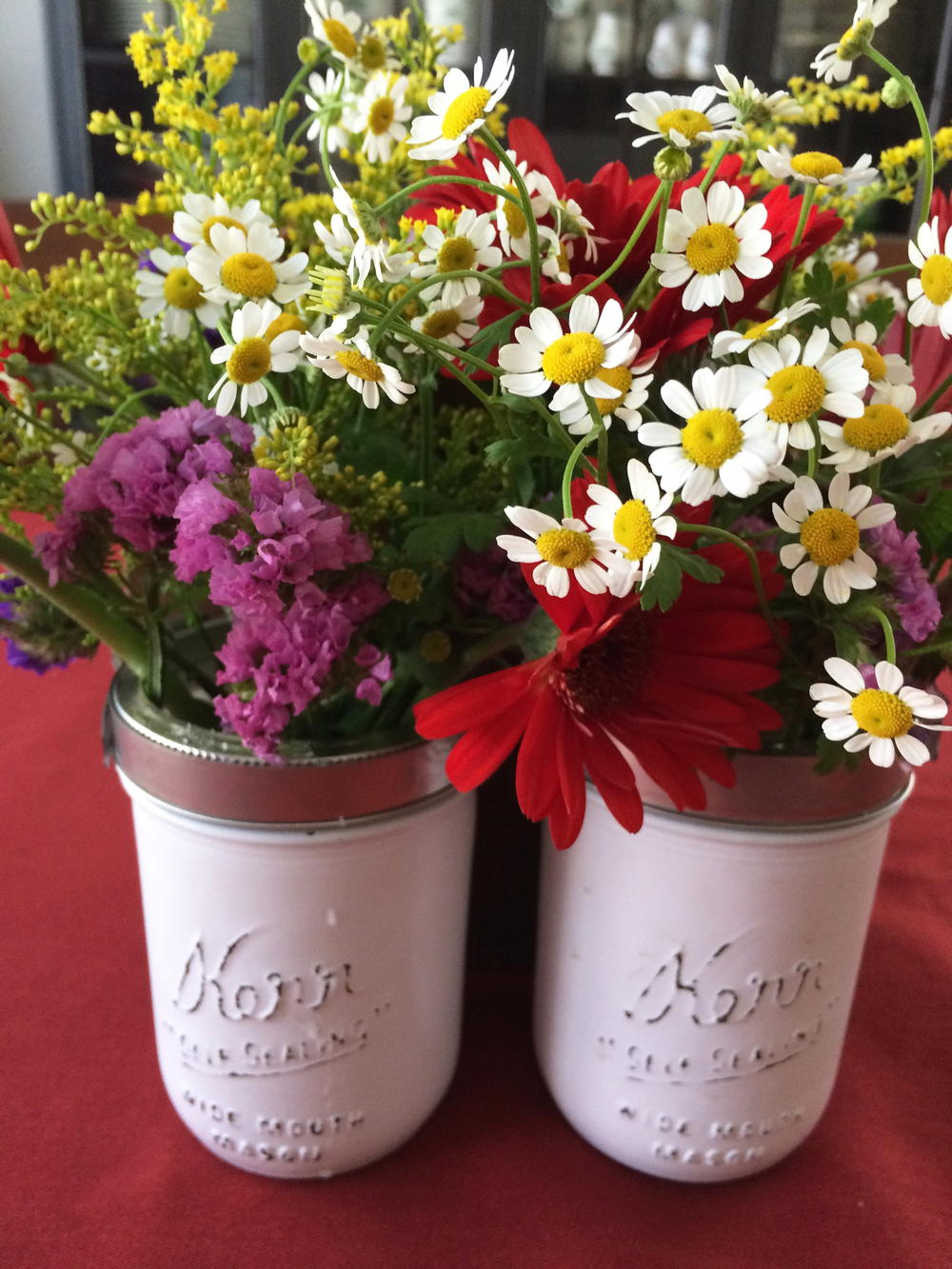 Mason Jar Flower Caddy Favecrafts Com