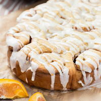 Slow Cooker Orange Sweet Rolls
