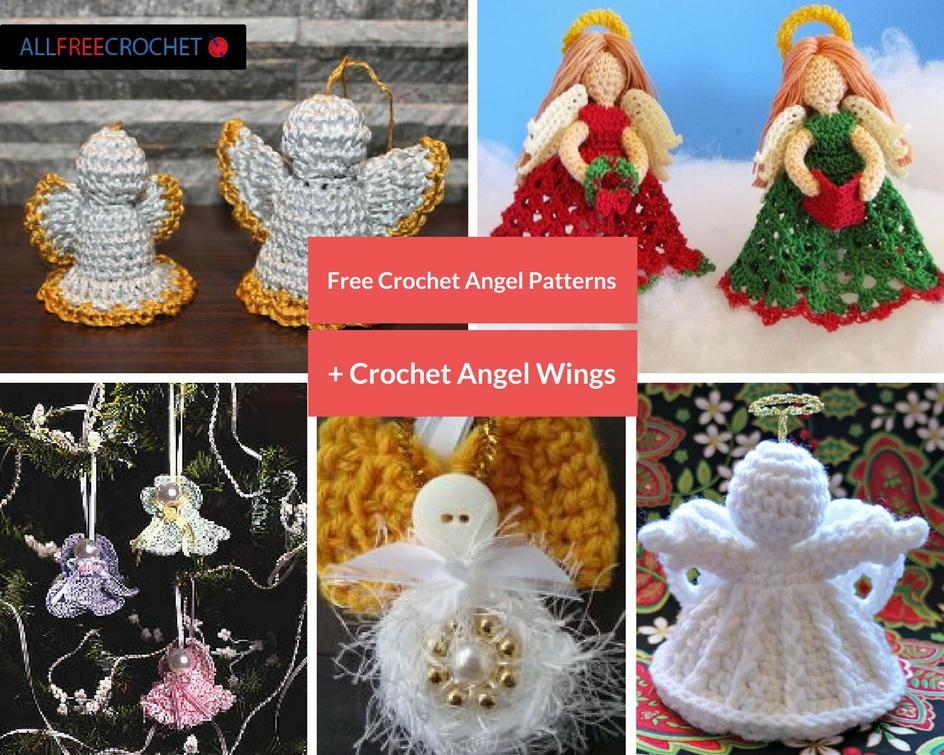 30 Free Crochet Angel Patterns Crochet Angel Wings
