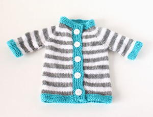 Stripey Baby Sweater Pattern