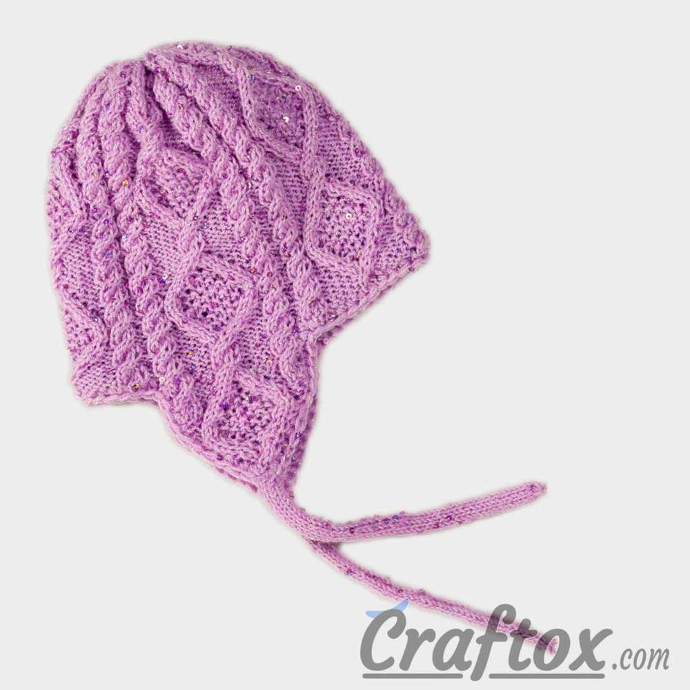 a46ac9d00ec Diamond Cables Earflap Hat