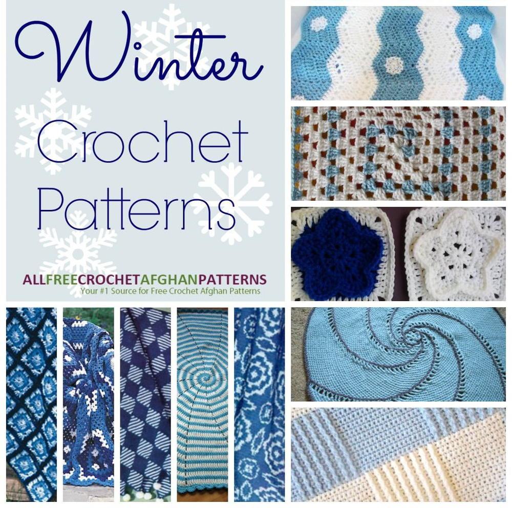 26 Winter Crochet Patterns Allfreecrochetafghanpatternscom