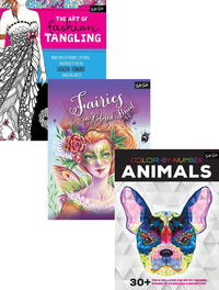 Ultimate Coloring and Tangling Giveaway Medley