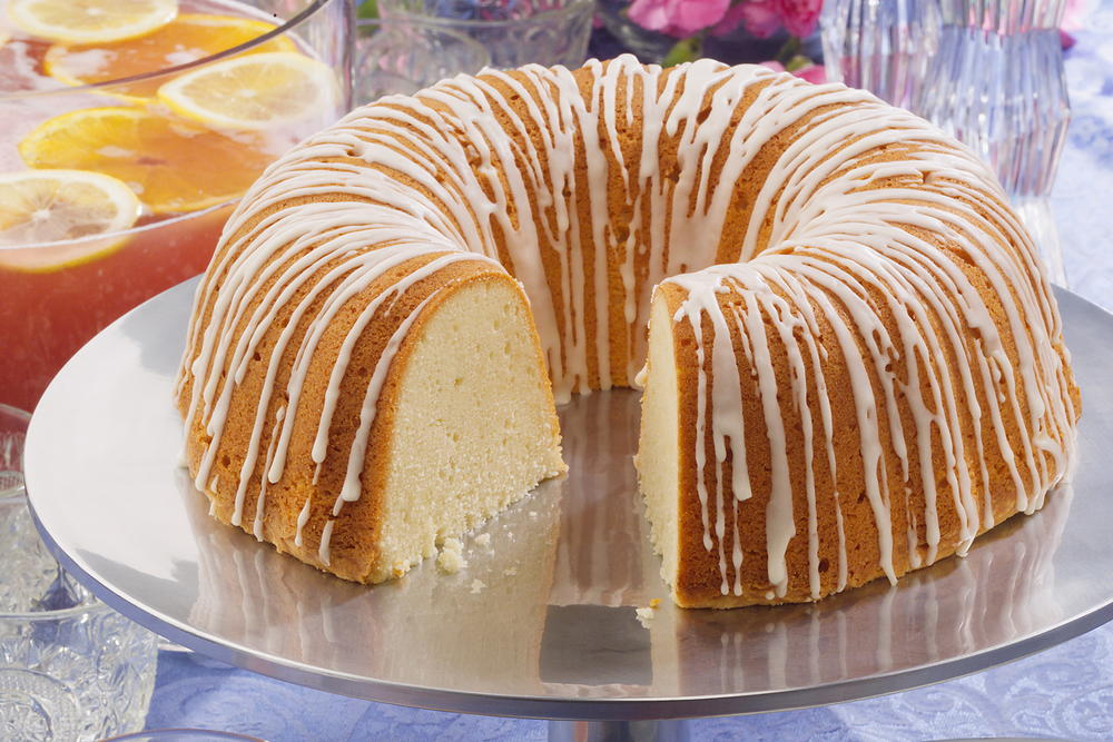 Orange Cake Recipe Box