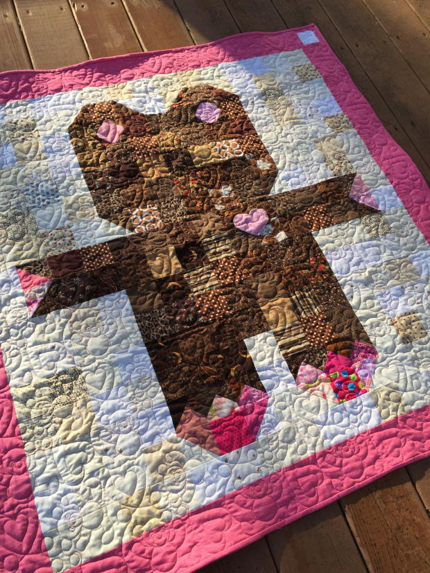 Roly Poly Teddy Bear Quilt Favequilts Com
