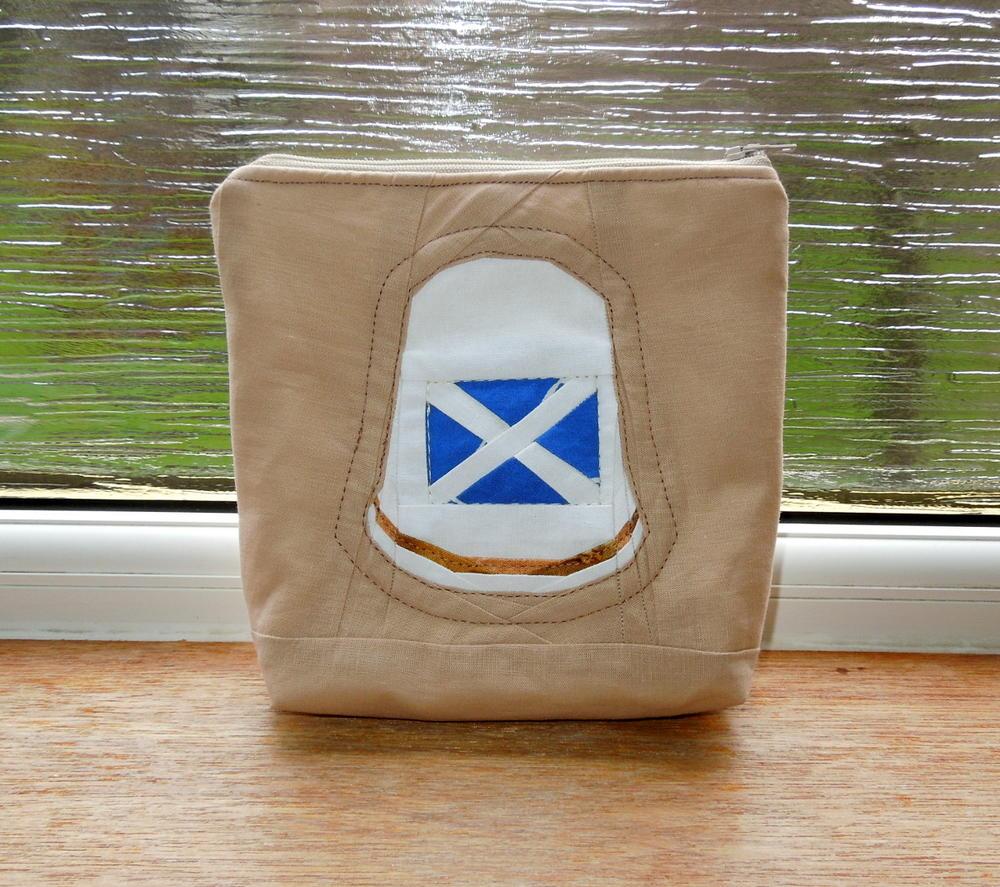 Scottish Flag Thimble Pattern Favequilts Com