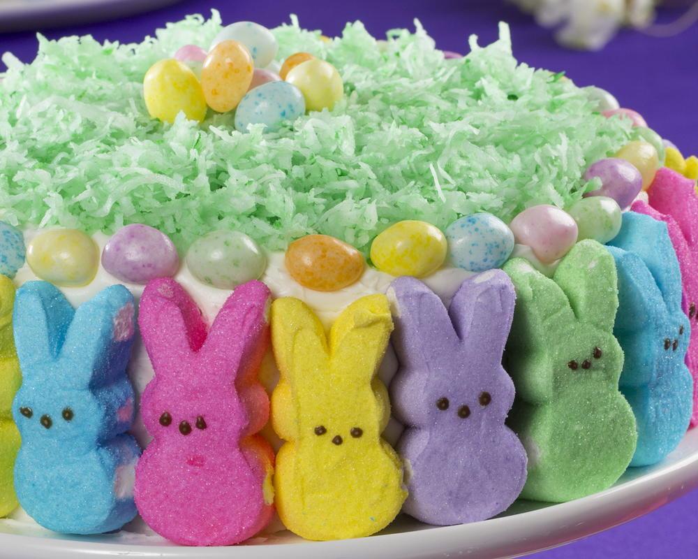 Hoppy Easter Bunny Cake Mrfood Com
