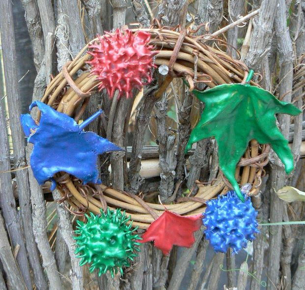 Kid S Merry And Bright Nature Wreath