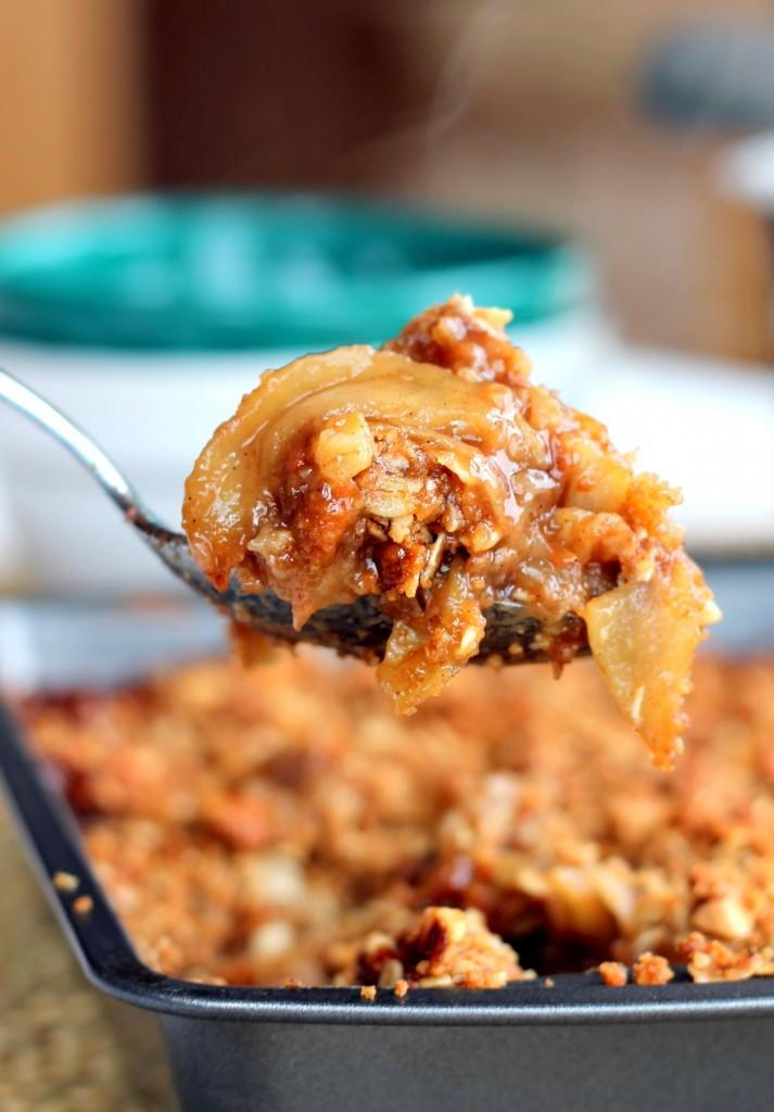 Vanilla Bean Apple Crisp Allfreecasserolerecipes Com