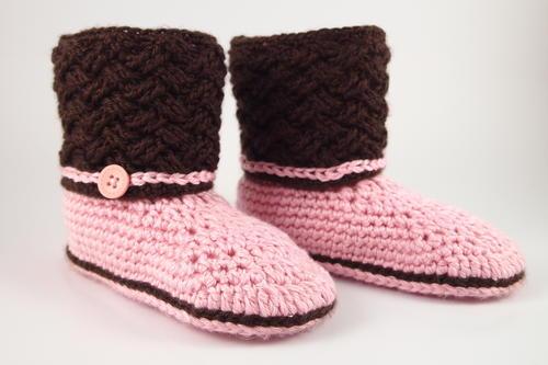Celtic Dream Crochet Slippers