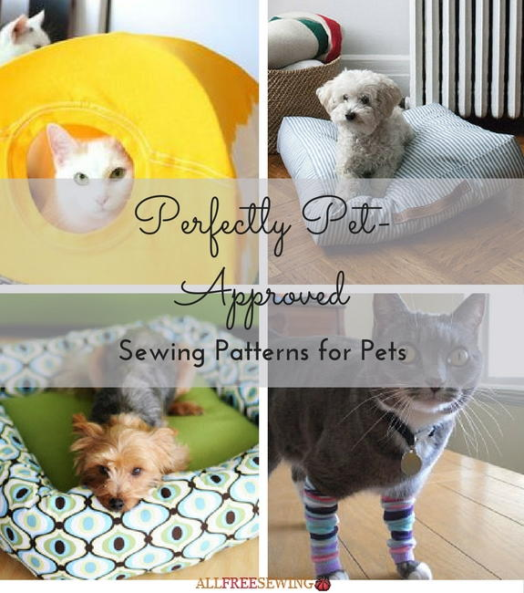 Perfectly Pet Approved 16 Sewing Patterns For Pets