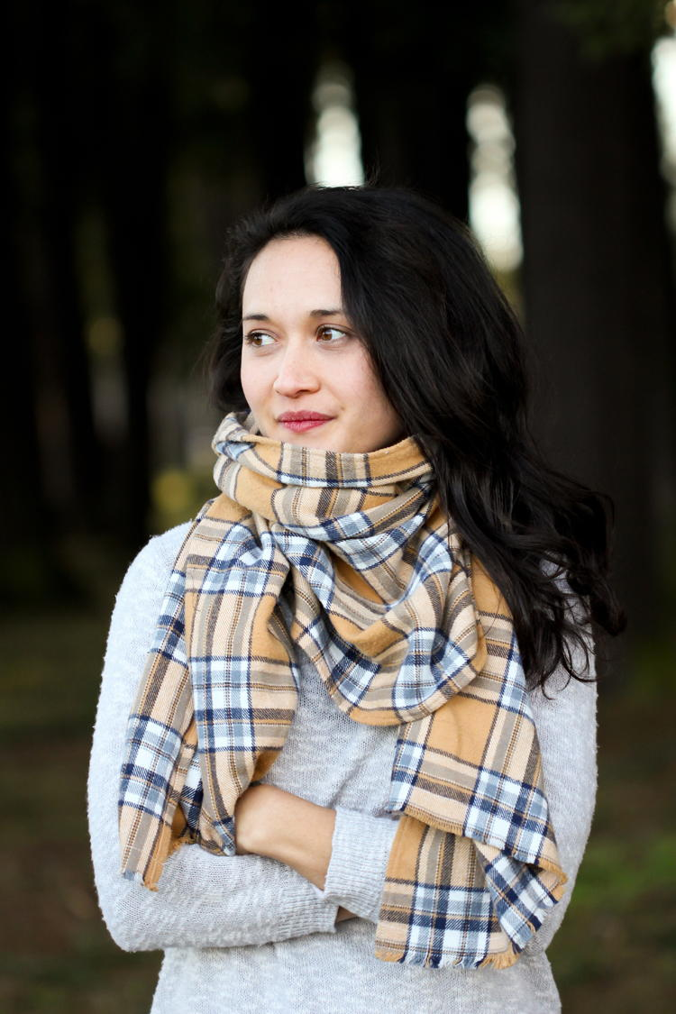 Comfy Flannel Blanket Scarf Allfreesewing Com