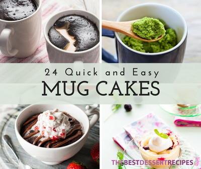 Thebestdessertrecipes Recipes For Cake Quick Easy Mug Cake Recipes