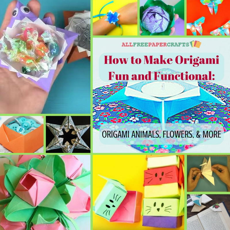 How To Make Origami Animal Finger Puppets - Folding Instructions ... | 800x800