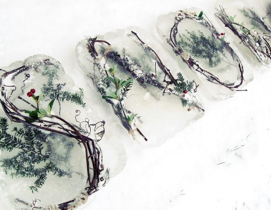 Frozen Nature Diy Outdoor Decor Allfreechristmascrafts Com