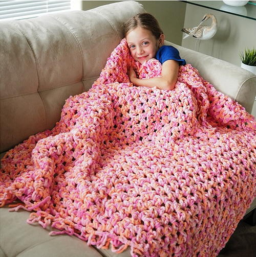 Cozy Crochet Blanket Pattern