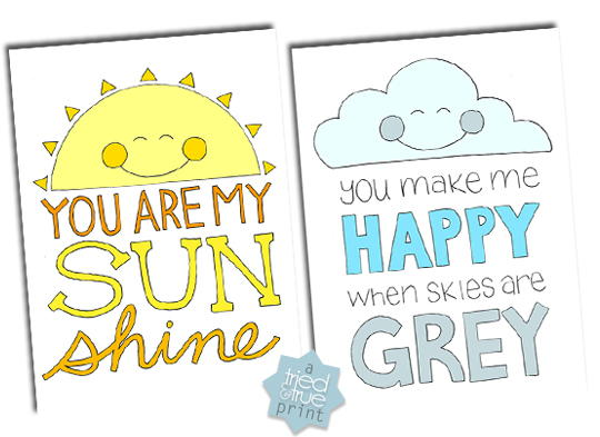 You Are My Sunshine Coloring Pages FaveCrafts.com