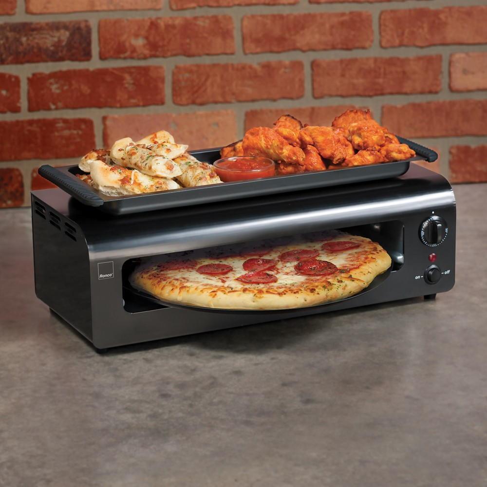 Countertop Stove Reviews : Ronco Pizza and More Countertop Appliance Oven Review RecipeLion.com