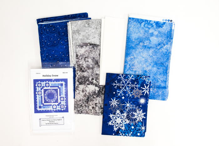 Starry Snowy Night Fabric Bundle Giveaway