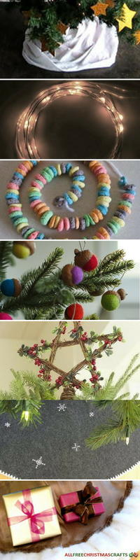 How to decorate a christmas tree allfreechristmascrafts