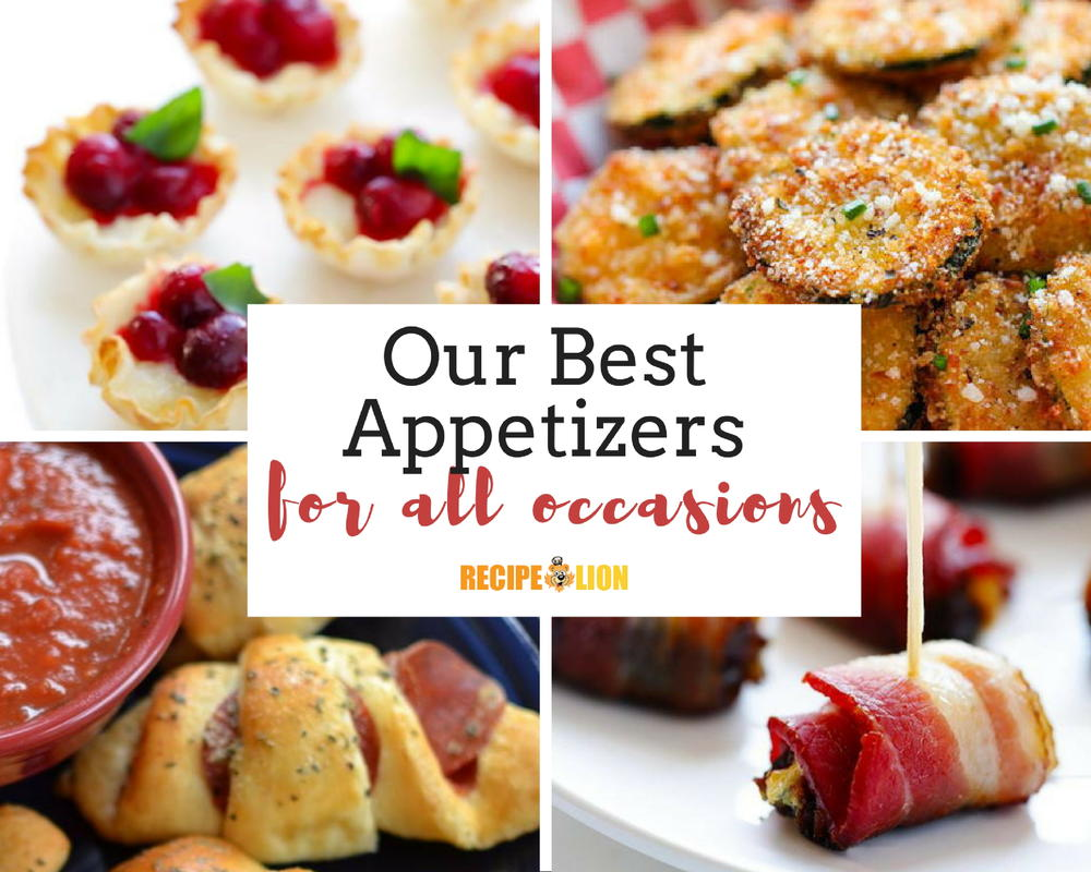Our Very Best Appetizers Recipelion Com