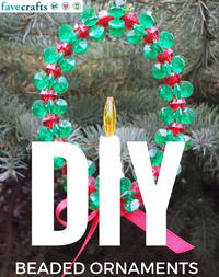 22 DIY Beaded Ornaments