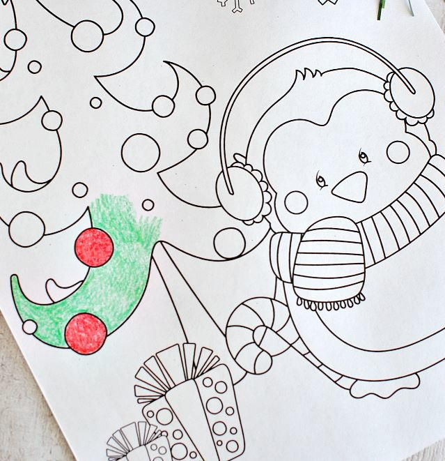 Assorted Christmas Coloring Pages Allfreechristmascrafts Com