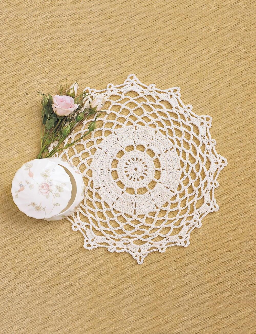 Pretty Doily Crochet Pattern Favecrafts Com