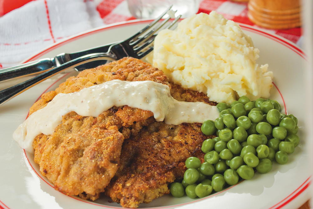 Texas Chicken Fried Steak Mrfood Com
