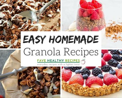 14 Easy Homemade Granola Recipes