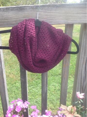 Knit Picky Patterns From Allfreeknitting : Magentalicious Cowl AllFreeKnitting.com