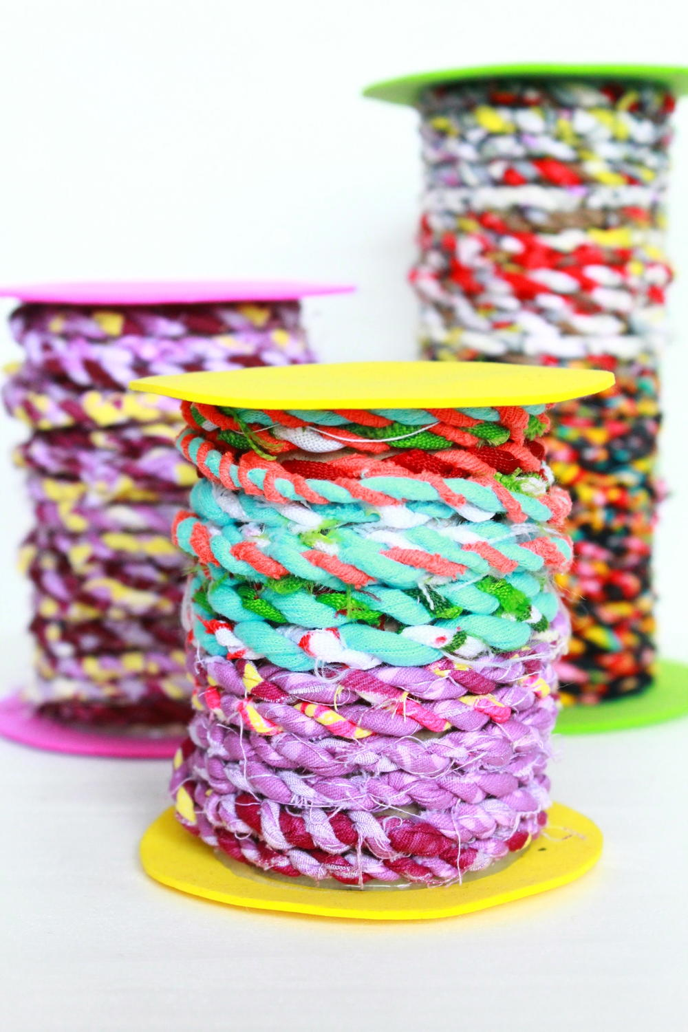 How To Make Fabric Twine Diyideacenter Com