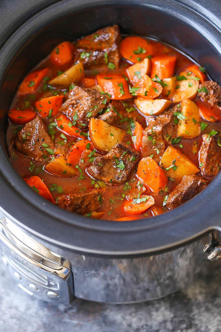 Cozy Slow Cooker Beef Stew Favesouthernrecipes Com
