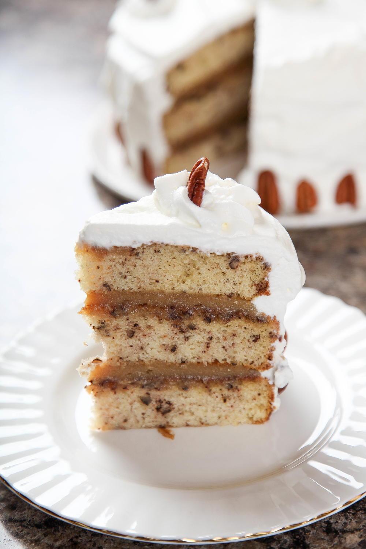 Pecan Pie Cake   RecipeLion.com