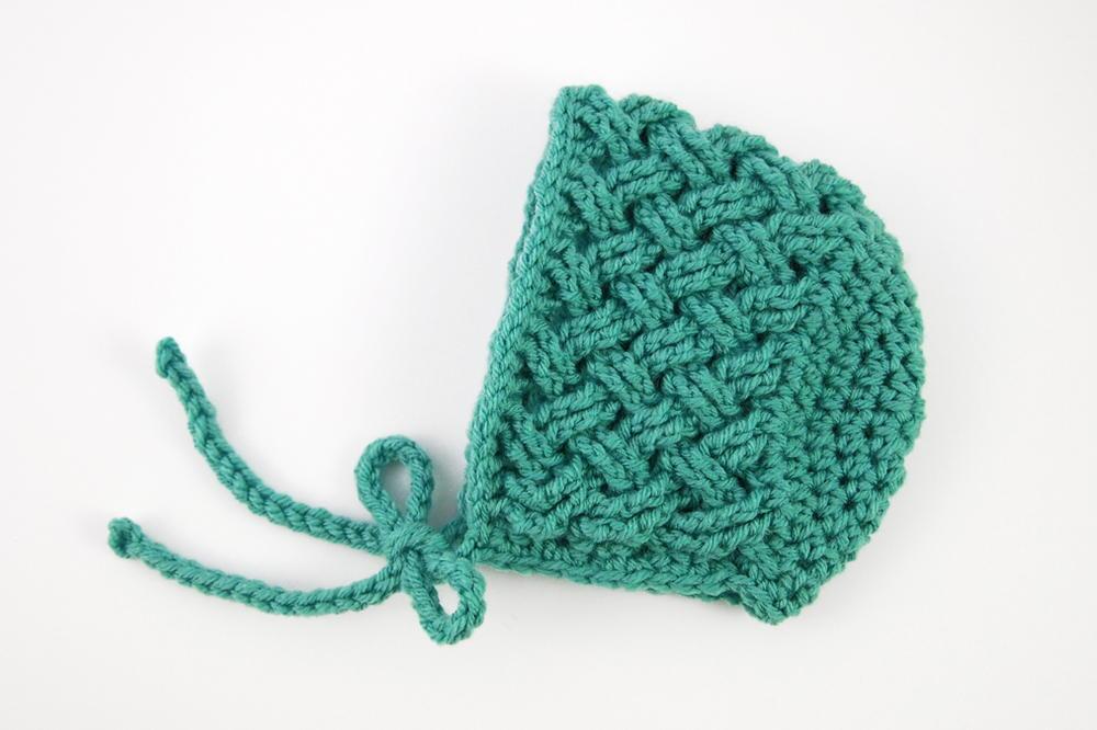 Celtic Dream Crochet Baby Bonnet Allfreecrochetcom