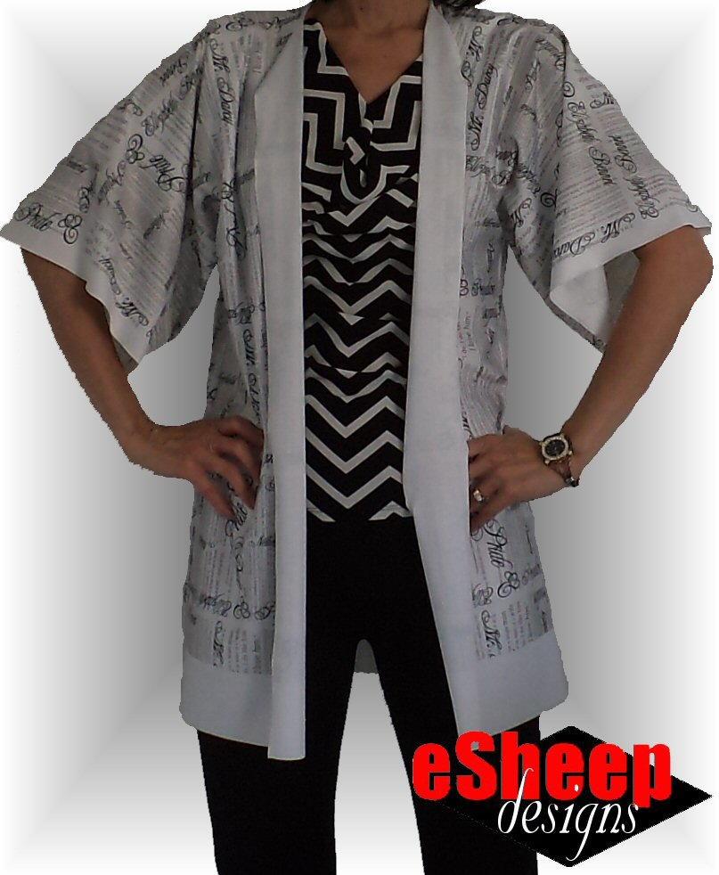 Quick Sew Kimono Jacket Allfreesewing Com