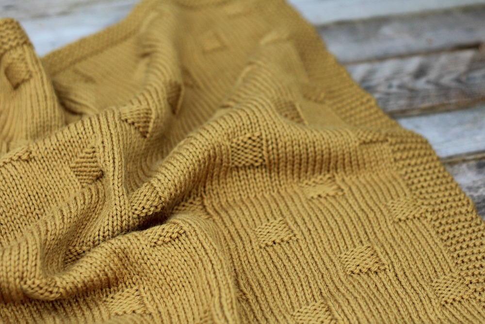 Bryn Knit Baby Blanket Allfreeknitting Com