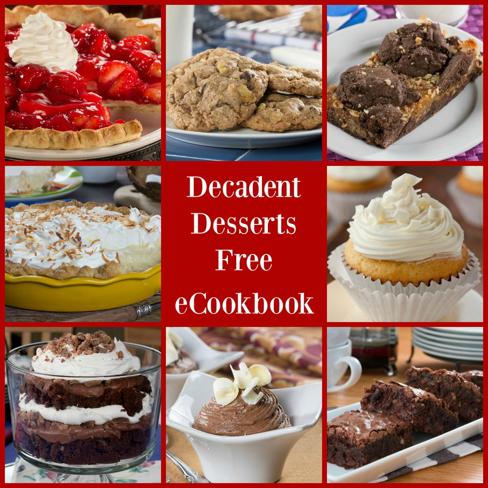 Mr. Food Decadent Desserts: 25 Easy-to-Make Desserts Free