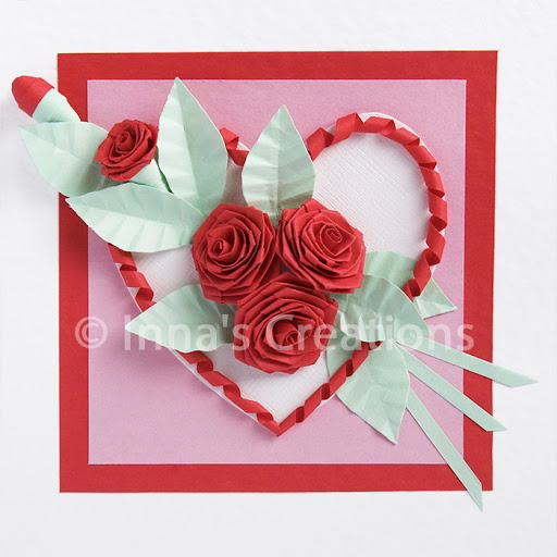 Romantic Rose Quilling Design Allfreepapercrafts Com