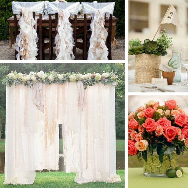 Free Wedding Ideas: 23 Dollar Store Wedding Ideas For The Budget Bride