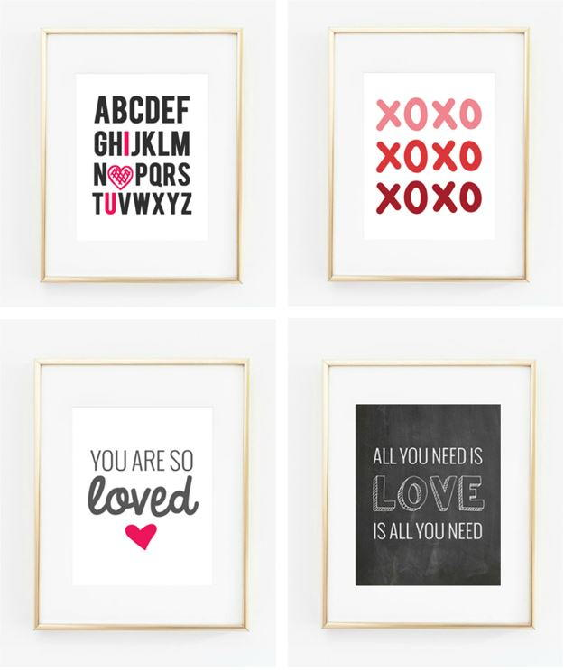 Valentine 39 S Day Printable Wall Art