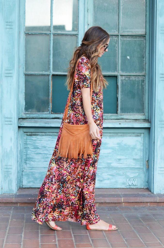 Boho Chic Maxi Dress Tutorial Allfreesewing Com