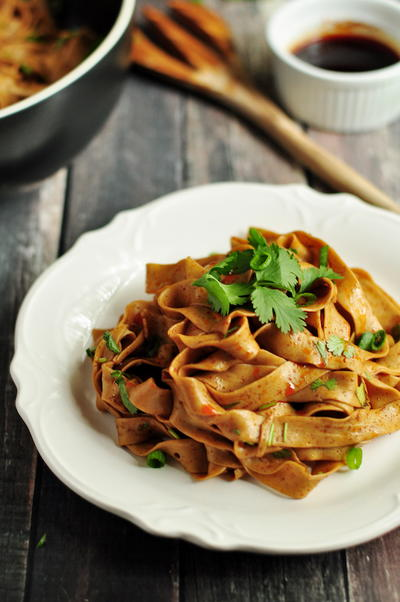 Spicy Chinese Noodles | RecipeLion.com