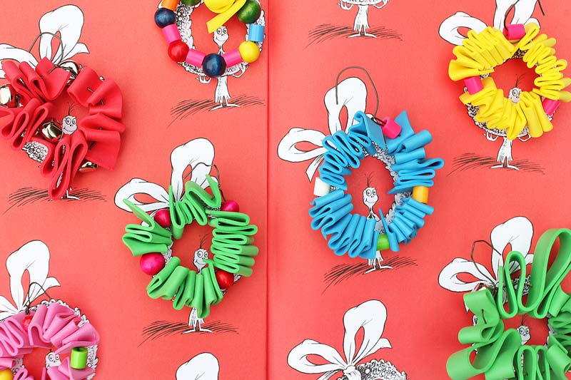 Whoville Wreath Homemade Ornaments Allfreekidscrafts Com