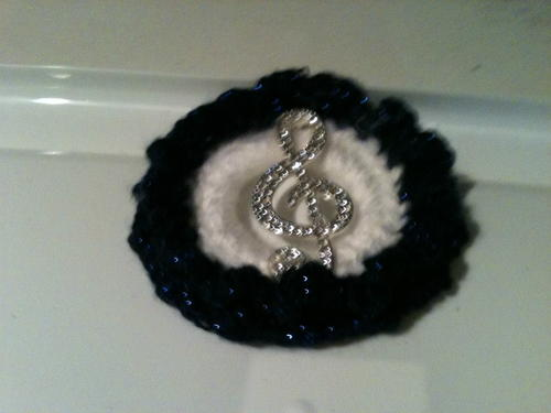 Linda's Musical Crochet Ornament